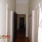 1896 original colonial hallway